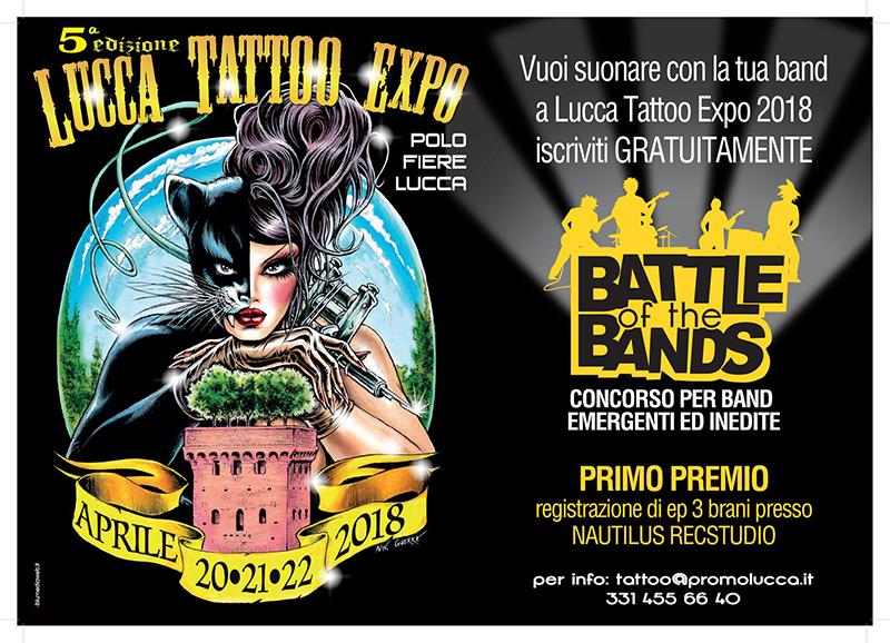 Quinta Edizione Lucca tattoo Expo