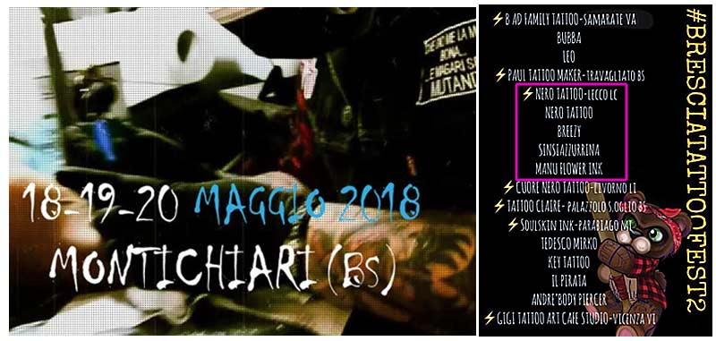 Montichiari 18-19-20 Maggio 2018